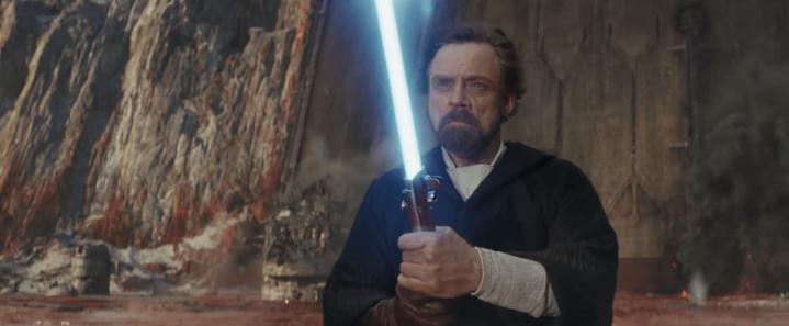 Lucasfilm Story Group discusses the subtle hints from that major Luke Skywalker scene in The LastJedi