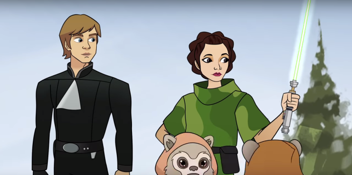 Star Wars releases cool new Forces of Destiny episodes from seasontwo