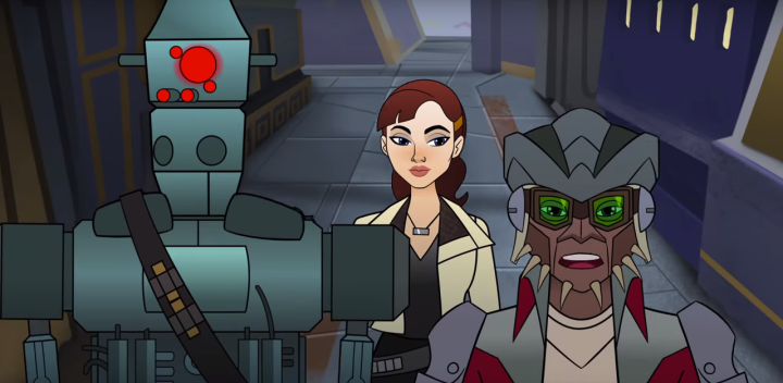 New Forces of Destiny short features Qi'ra from Solo: A Star Wars Story