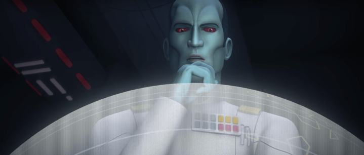 Thrawn indirectly influenced the events of Rogue One