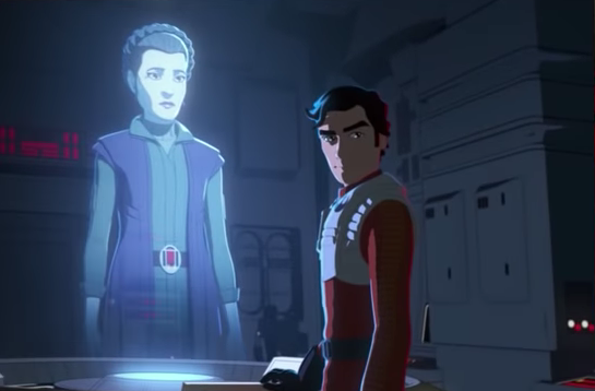 Breaking down the behind-the-scenes look at Star Wars: Resistance!