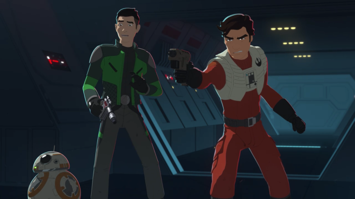 "Star Wars Resistance: ""Station Theta Black"" review"