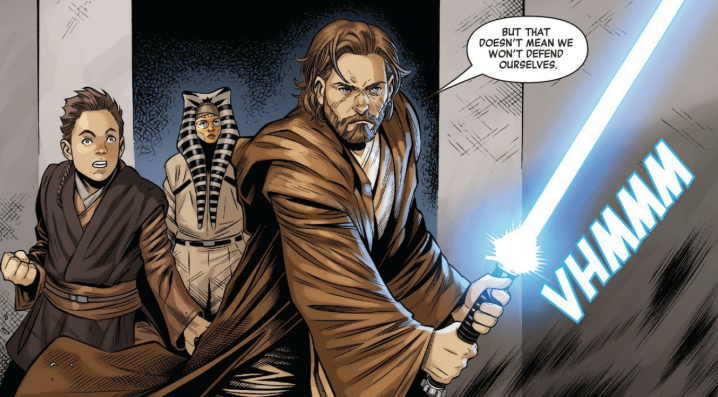 Age of Republic Obi-Wan Kenobi comic shows his first mission with AnakinSkywalker