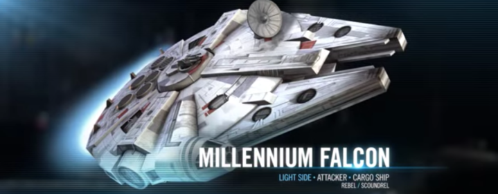 The original Millennium Falcon is coming to Star Wars: Galaxy of Heroes