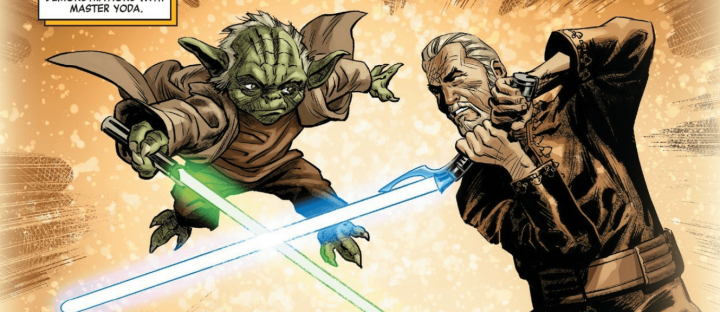 Age of Republic: Count Dooku comic shows Dooku confronting his Jedi past