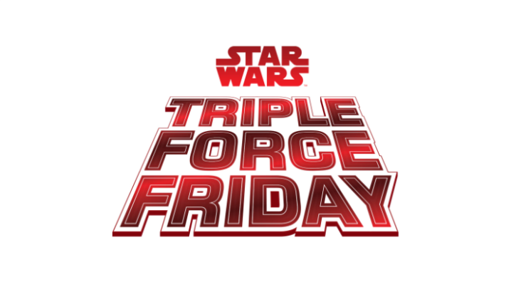 Star Wars announces a Triple Force Friday coming October4!