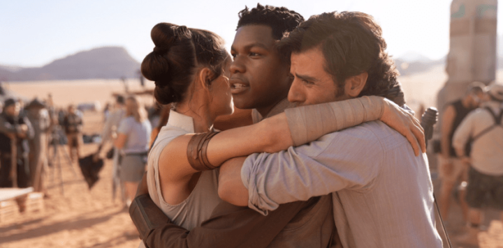 J.J. Abrams shares photo announcing that filming has officially wrapped on Star Wars: Episode IX!