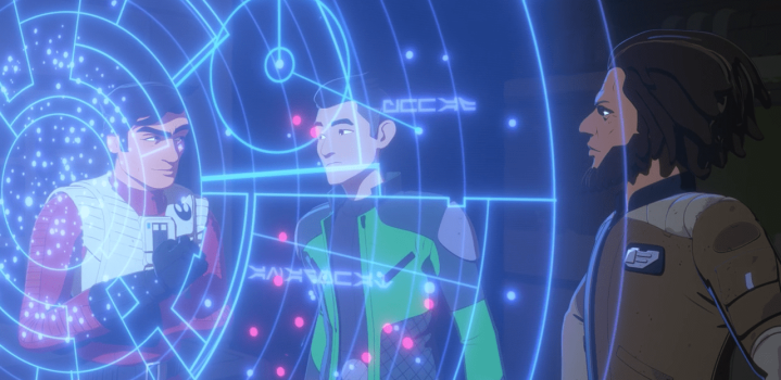 """Star Wars Resistance: """"The Core Problem""""review"""