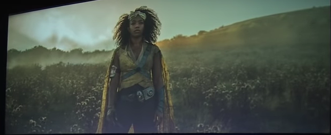 Naomi Ackie plays Jannah in The Rise ofSkywalker