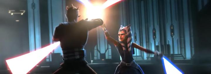New trailer for The Clone Wars season 7 shows a glimpse of Ahsoka vs.Maul!