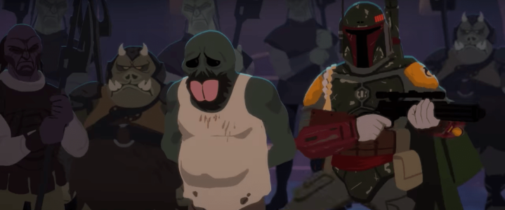 Galaxy of Adventures clarifies why Boba Fett was at Jabba's Palace in Return of the Jedi