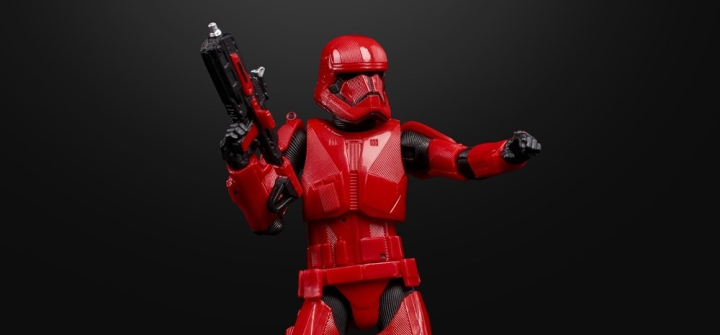 New Sith Trooper from The Rise of Skywalker officiallyrevealed!