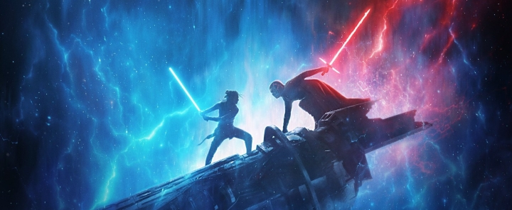 The Rise of Skywalker footage shown at D23 reveals Rey with a double-sided RED lightsaber!