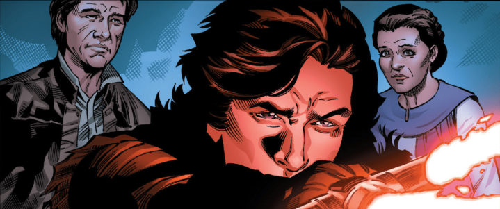 "We learned some interesting things about Ben Solo's relationships with Snoke, Skywalker, and his parents in the latest ""Age of Resistance"" issue"