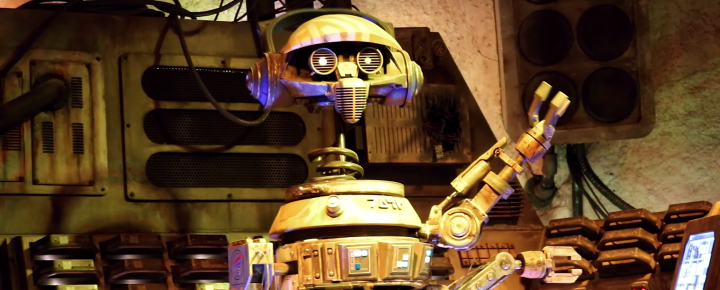 DJ R-3X's playlist from Oga's Cantina at Galaxy's Edge released!