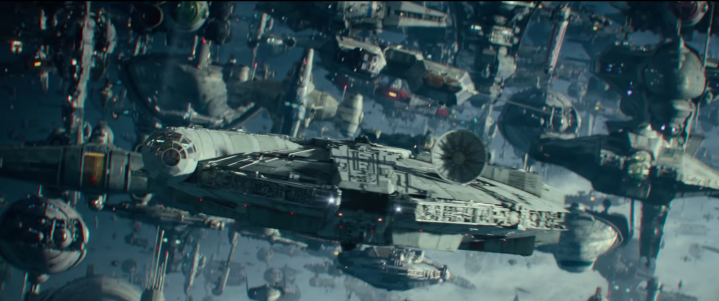 It looks like the Ghost is in The Rise ofSkywalker!