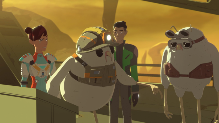 "Star Wars Resistance: ""From Beneath"" review"
