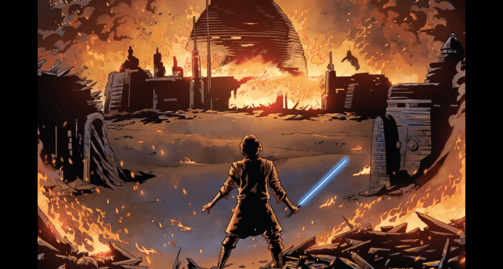 The Rise of Kylo Ren #1 gives us a shocking revelation about the destruction of Luke's Temple
