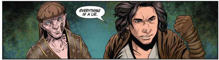 The Rise of Kylo Ren #2 ties in to Solo in a brilliant and emotionalway