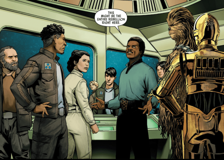 We recently got another reference to the High Republic era in a Star Wars comic…
