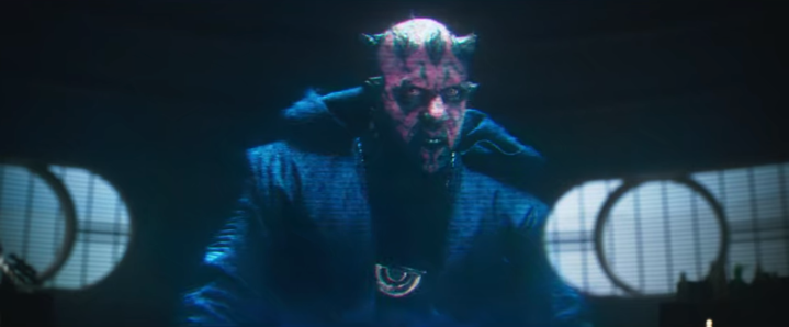 We have Dave Filoni and Sam Witwer to thank for how that Maul cameo in Solo turned out