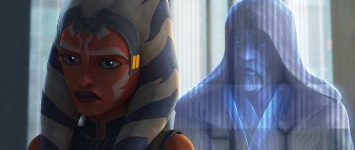 That scene between Obi-Wan Kenobi and Ahsoka Tano is heartbreaking for so many reasons