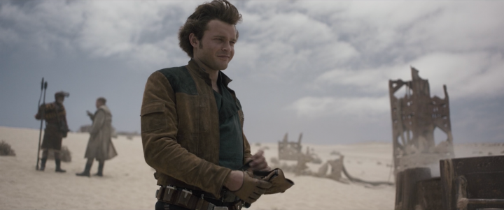 """Alden Ehrenreich doesn't know about a Solo sequel, but then adds, """"I've heard soooome stuff, but nothingconcrete"""""""