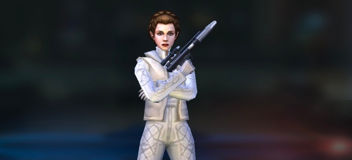 It is INSANE how negligently Galaxy of Heroes has overlooked Leia Organa