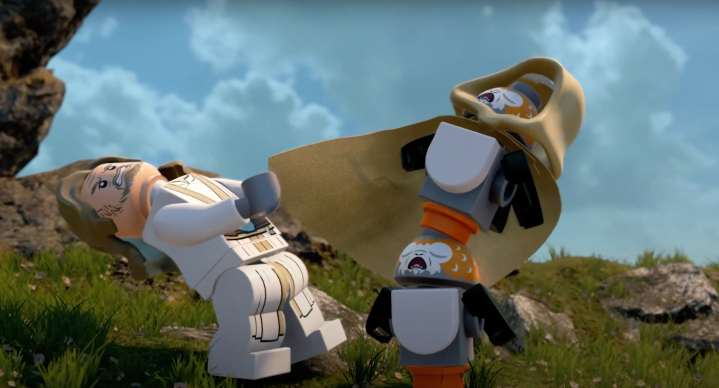 The ten best gags from the amazing LEGO Star Wars: The Skywalker Sagatrailer!