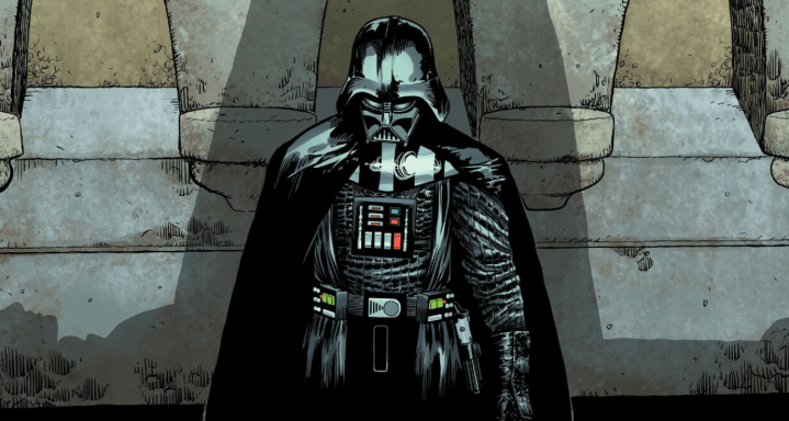 Darth Vader travels to the place of Luke Skywalker's birth in latestcomic