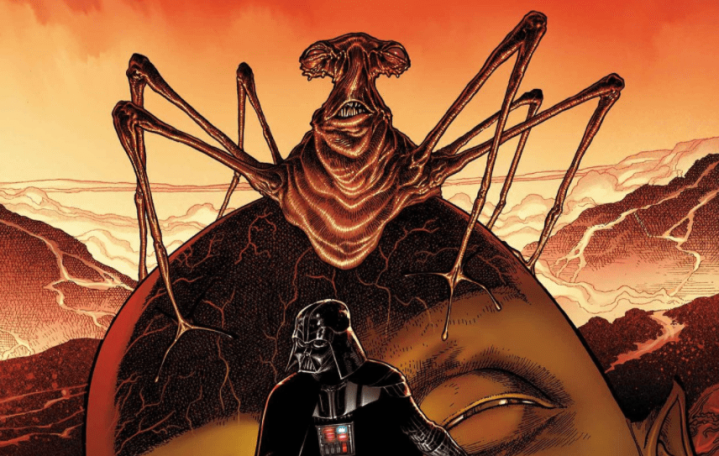Darth Vader is going to visit the Eye of Webbish Bog in upcoming comic