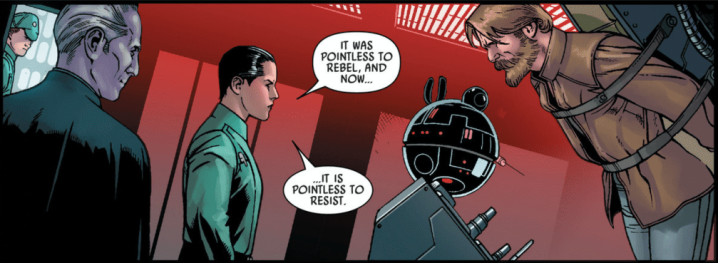 Commander Zahra's history with Grand Moff Tarkin revealed in Star Wars #7!