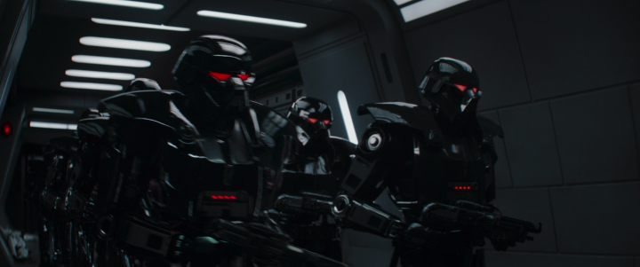 How The Mandalorian's use of Dark Troopers both set-up and added to that thrilling finale in Chapter16