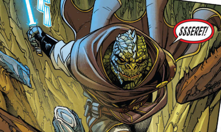 Star Wars: The High Republic #2 continues to show Sskeer'sstruggles