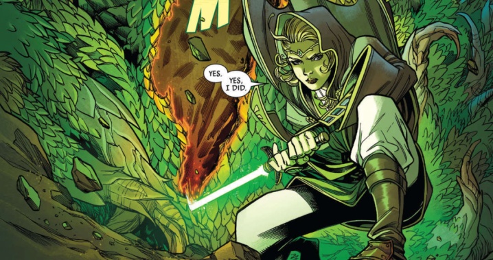 The Jedi encounter the dangerous Drengir in Star Wars: The High Republic issue #3!