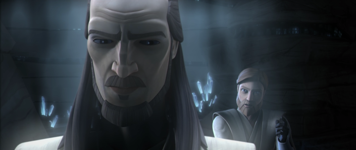 Did we just get a clue that we might see Qui-Gon Jinn show up in the Obi-Wan Kenobi series?