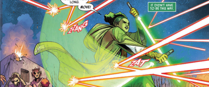 The High Republic #5 contains an important reveal about Jedi MasterSskeer