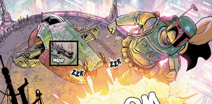 War of the Bounty Hunters #1 review: Boba Fett is a wanted man, and we get a stunningreveal!