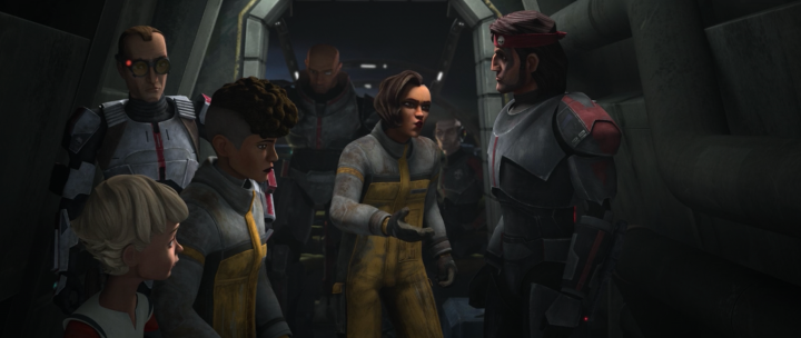 The Bad Batch really is a follow-up series to the final season of The CloneWars