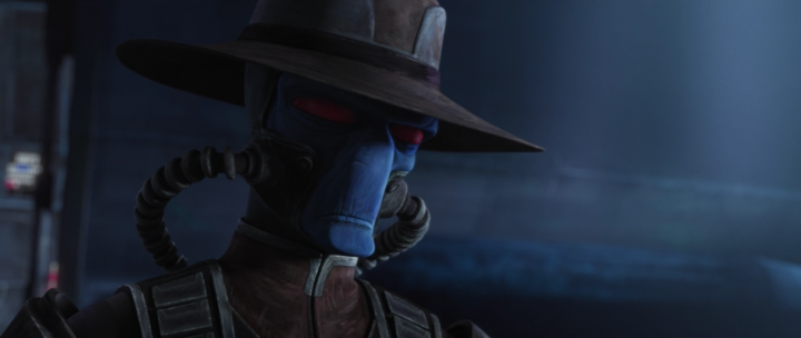 The concept art for Cad Bane in The Bad Batch has a very interesting potential link to the unfinished The Clone Wars arc with BobaFett