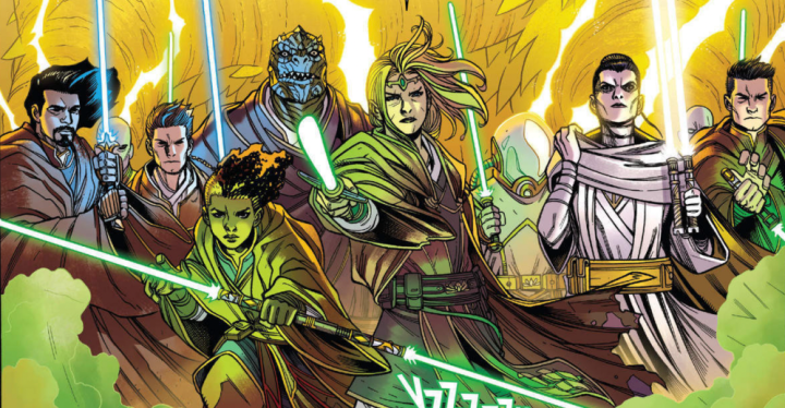 Star Wars: The High Republic #8 review: The Jedi take the fight to the Drengir, for light andlife!